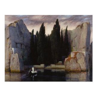 Arnold Böcklin - The Isle of the Dead Postcard