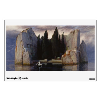 Arnold Böcklin - The Isle of the Dead Room Sticker