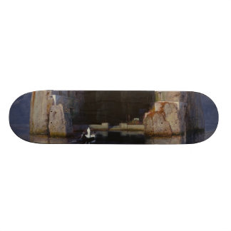 Arnold Böcklin - The Isle of the Dead Skateboard