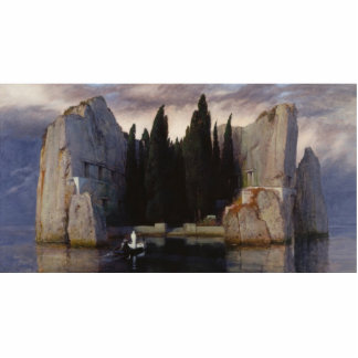 Arnold Böcklin - The Isle of the Dead Standing Photo Sculpture