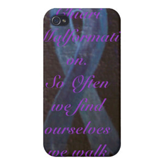 Arnold Chiari Awareness Covers For iPhone 4