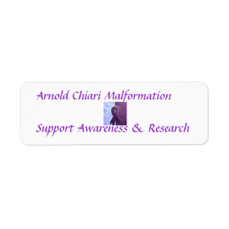 Arnold Chiari Malformation Support Awareness Label