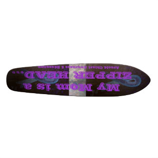 Arnold Chiari Malformation Support Awareness Skateboard Deck