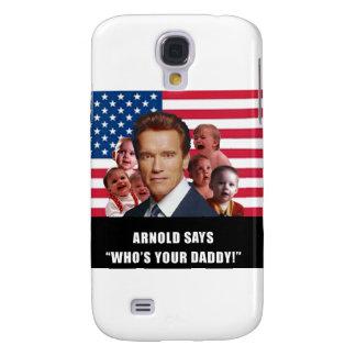 Arnold dice funda para galaxy s4