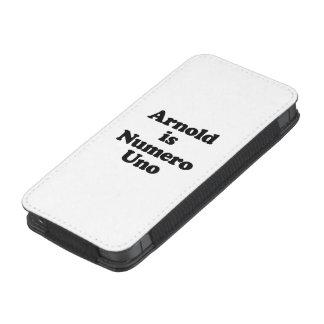 Arnold es Uno de Numero Funda Acolchada Para iPhone