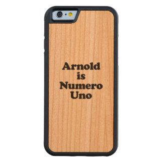 Arnold es Uno de Numero Funda De iPhone 6 Bumper Cerezo