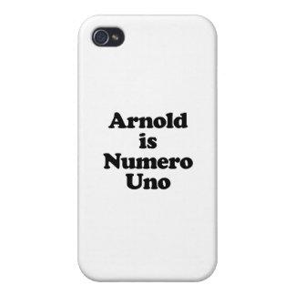 Arnold es Uno de Numero iPhone 4 Carcasas