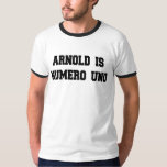 Arnold es Uno de Numero Remeras