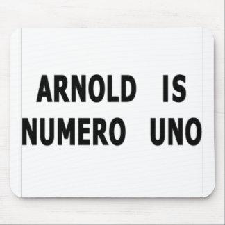 Arnold es Uno de Numero Tapete De Ratones