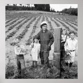 Arnold Family's New Farm - 1939 Poster