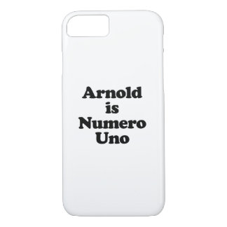 Arnold is Numero Uno iPhone 8/7 Case
