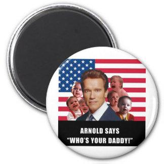 Arnold Says Fridge Magnets