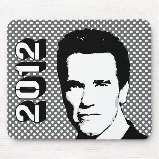 Arnold Schwarzenegger 2012 Mouse Pad