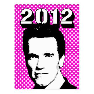 Arnold Schwarzenegger 2012 Postcard