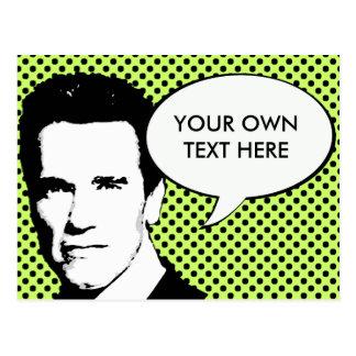 Arnold Schwarzenegger 2012 Postales