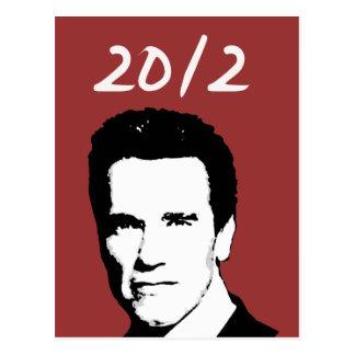 Arnold Schwarzenegger 2012 Postal