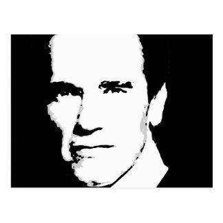 Arnold Schwarzenegger Gear Postcard
