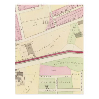 Arnold Square Rhode Island Locomotive Works Post Cards