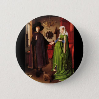 Arnolfini Portrait Button