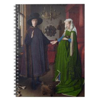 Arnolfini Portrait - Jan van Eyck Notebook