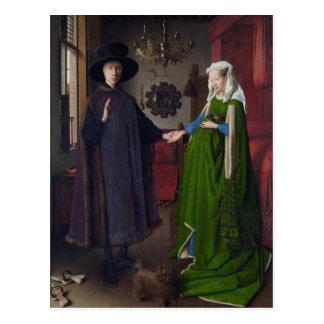 Arnolfini Portrait - Jan van Eyck Postcard