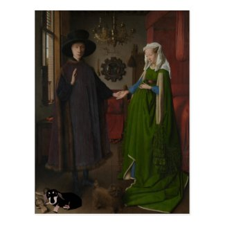Arnolfini with Dachshund - National Gallery