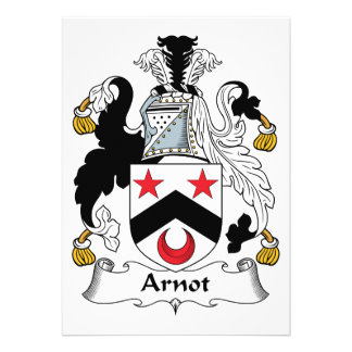 Arnot Family Crest Announcements