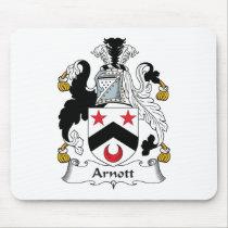Arnott Family Crest Mousepad