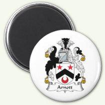 Arnott Family Crest Magnet