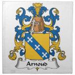 Arnoud Family Crest Cloth Napkin