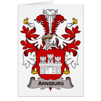 Arnsburg Family Crest Card