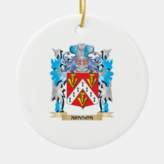 Arnson Coat Of Arms Ornaments