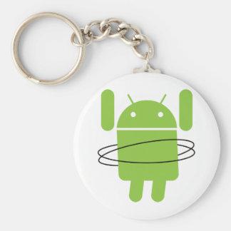 Aro androide de Hula Llavero Personalizado