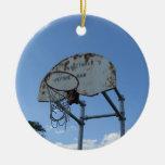 Aro de baloncesto adorno de navidad