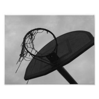 Aro de baloncesto amado pozo fotografía