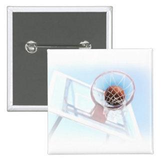 Aro de baloncesto con baloncesto pin cuadrada 5 cm