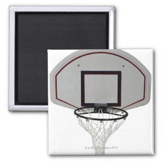 Aro de baloncesto con el tablero trasero imán cuadrado