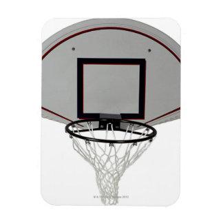 Aro de baloncesto con el tablero trasero imanes rectangulares