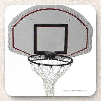 Aro de baloncesto con el tablero trasero posavasos de bebida