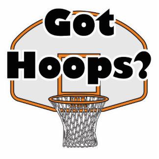 aro de baloncesto conseguido de los aros escultura fotográfica