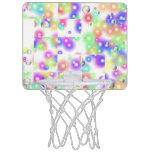 Aro de baloncesto de la burbuja del rompecabezas canastas mini