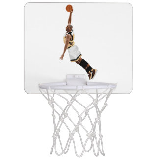 Aro de baloncesto de la clavada del baloncesto minicanastas