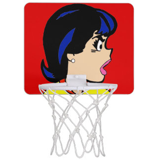 Aro de baloncesto de la historieta de Boss el mini Minicanasta