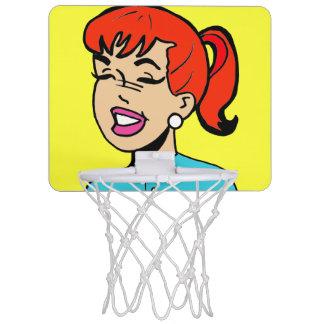Aro de baloncesto de la historieta de las risitas canasta mini