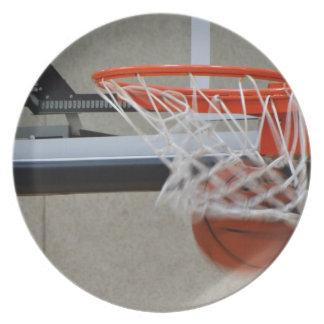 Aro de baloncesto del chasquido plato