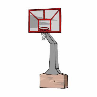 Aro de baloncesto escultura fotografica