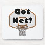 aro de baloncesto neto conseguido tapetes de raton