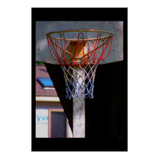 Aro de baloncesto poster