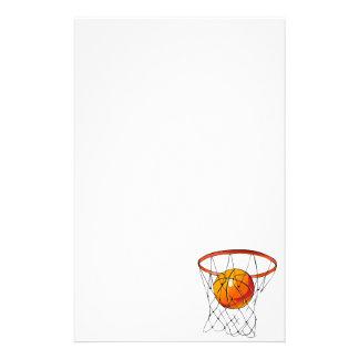 Aro de baloncesto  papeleria de diseño