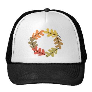 Aro de las hojas de otoño gorro